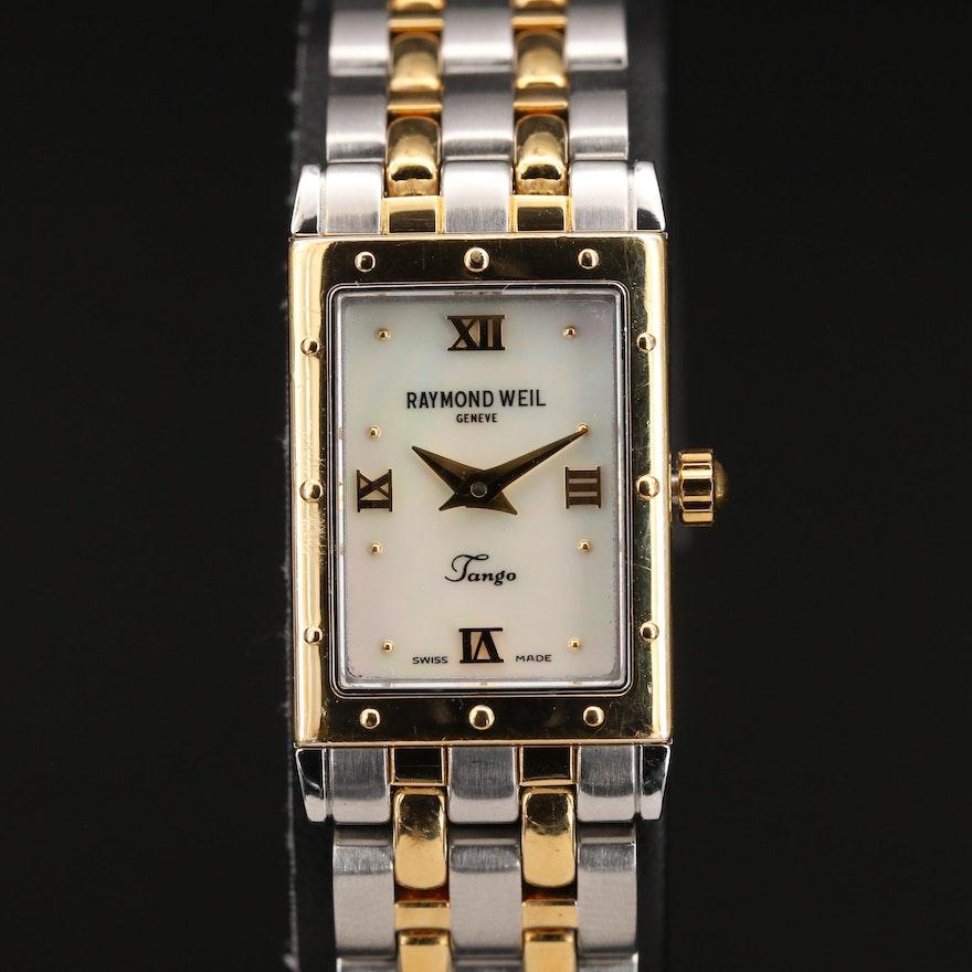 Raymond Weil Tango MOP Dial Two-Tone Quartz Wristwatch