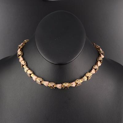 Vintage Foliate Necklace