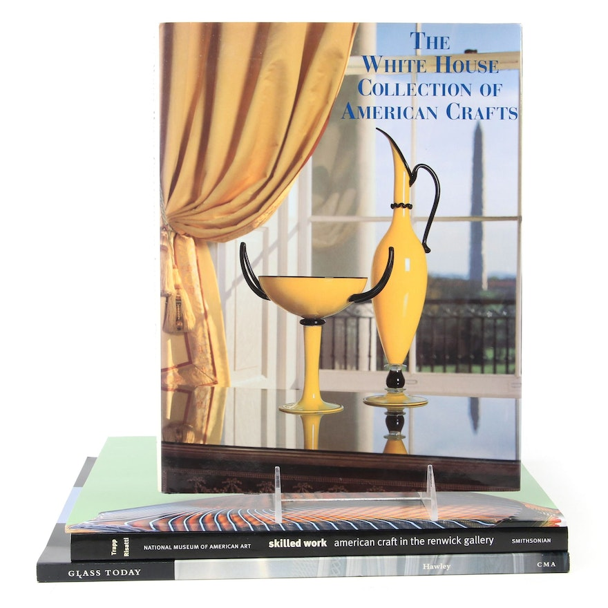 """""""Skilled Work,"""" """"Glass Today,"""" and More Décor and Design Reference Books"""