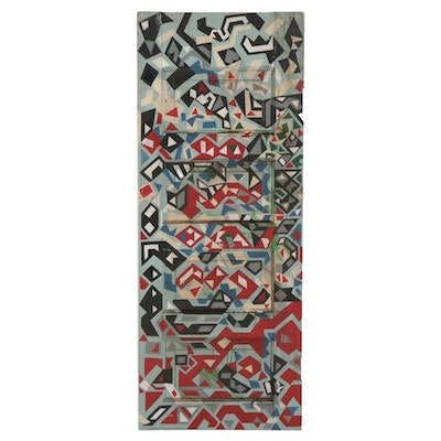 Ryder Henry Abstract Painted Wooden Door