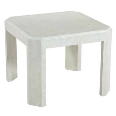 Modernist Style Laminate End Table, Mid to Late 20th Century