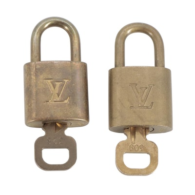 Louis Vuitton Key and Padlocks
