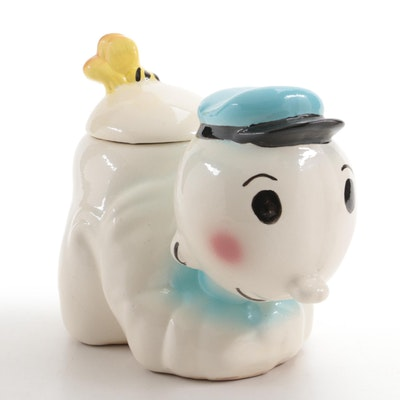 American Swee 'Pea Ceramic Cookie Jar