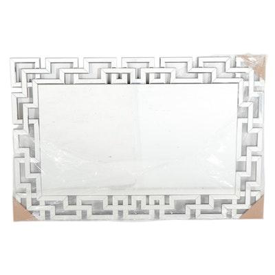 """Kirkland's """"Gemma"""" Lattice Framed Wall Mirror"""