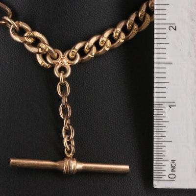 Victorian Decorative Curb Watch Chain