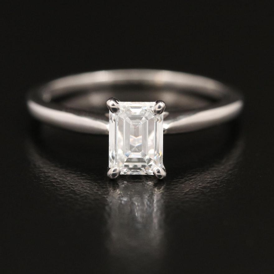 14K 1.01 CT Diamond Solitaire Ring
