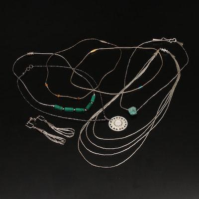 Southwestern Liquid Silver Jewelry