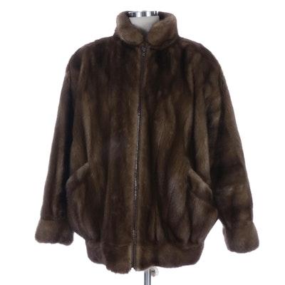 Mink Fur Zipper-Front Jacket by Saks Fifth Avenue