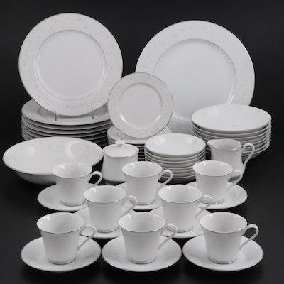 "Towne House ""Queen Ann"" Fine China Dinnerware Set for Eight"