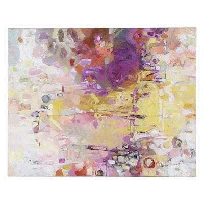 """Alexandra Zecevic Acrylic Painting """"Gentle,"""" 2021"""