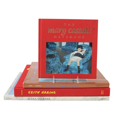 Art Reference Books on Keith Haring, Mary Cassatt, More, Late 20th Century