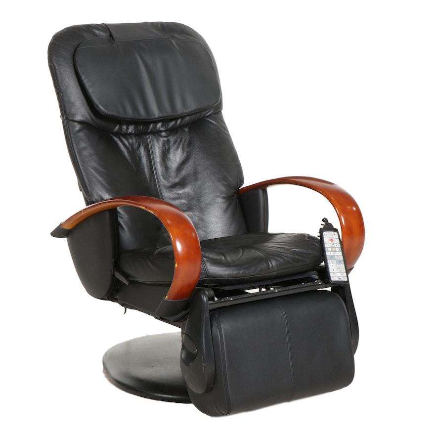 Interactive Health Human Touch Technology HTT-10CRPB Electric Massage Chair