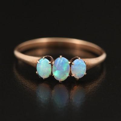 Victorian 10K Opal Ring
