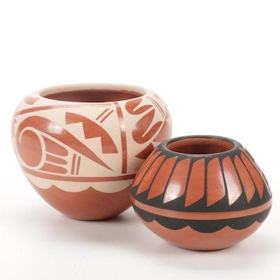 C. Loretto Jemez Pueblo Redware Pottery