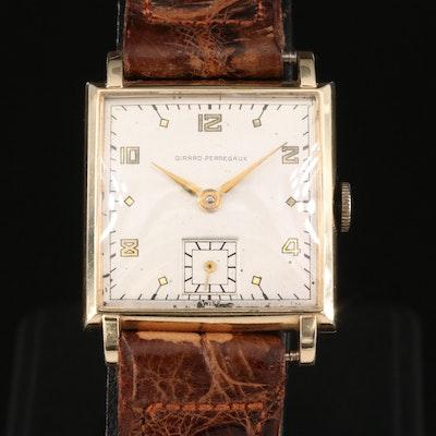 Vintage Girard-Perregaux 14K Gold Stem Wind Wristwatch
