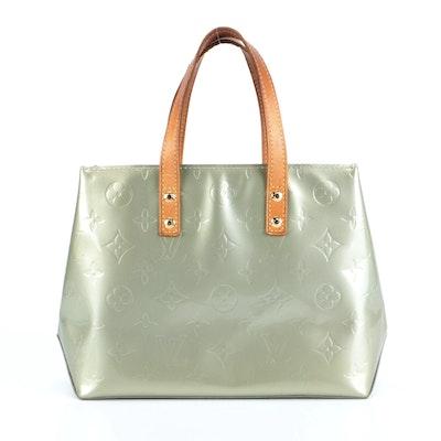 Louis Vuitton Reade PM in Monogram Vernis and Vachetta Leather