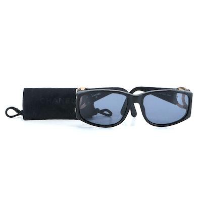 Chanel 02461 CC Logo Rectangular Sunglasses