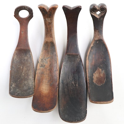 Indonesian Hand-Carved Wooden Spoons