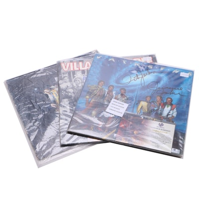 Jackson 5, Village People and Other Autographed Records with COAs