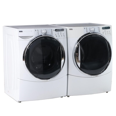 Kenmore Elite HE5 Steam Electric Washer and Dryer Set