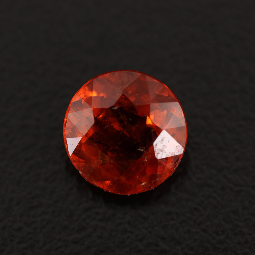 Loose 2.03 CT Round Faceted Garnet