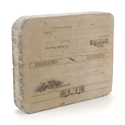 Lithographic Printing Stone, Early 20th Century