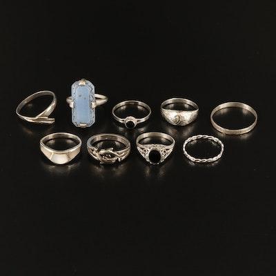 Sterling Ring Gemstone Rings