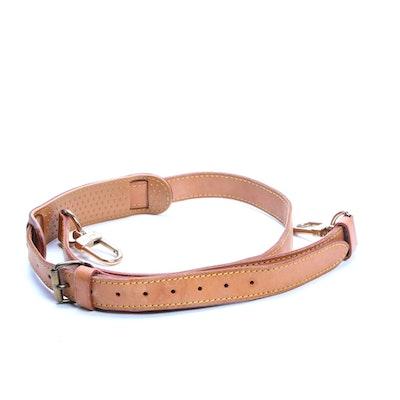 Louis Vuitton Keepall Shoulder Strap in Vachetta Leather