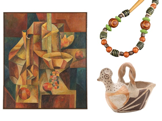 McElwain Estate: Featuring Art & Ethnographic Collection of Chicago Artists