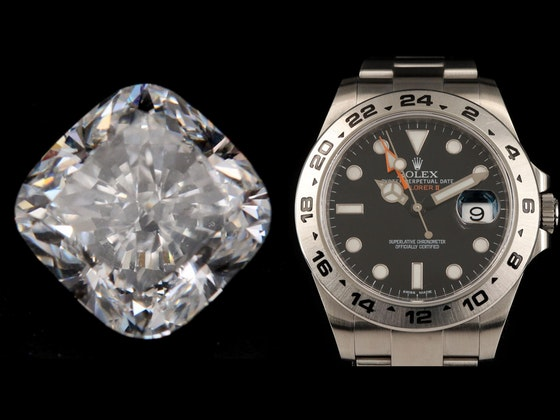 EXCEPTIONAL JEWELRY, LOOSE DIAMONDS & TIMEPIECES