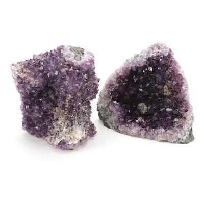 Amethyst Geode Segments
