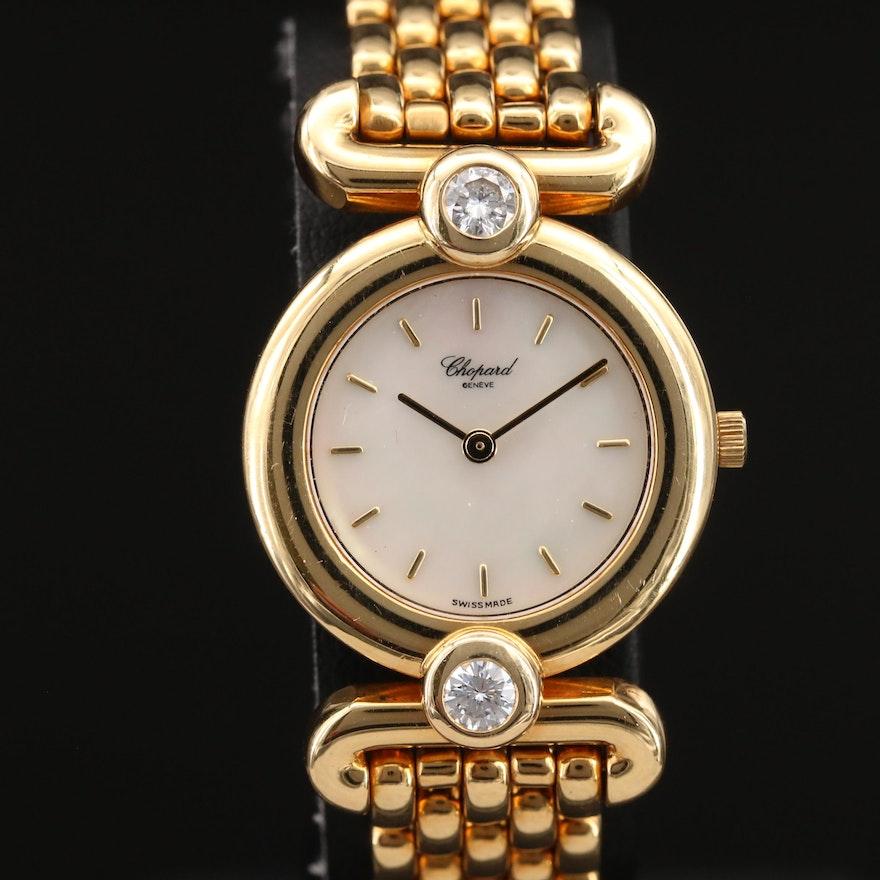 Chopard Imperiale 1.00 CTW Diamond and 18K Gold Quartz Wristwatch