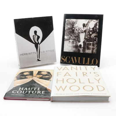 """""""Vanity Fair's Hollywood,"""" """"Haute Couture,"""" and More Fashion and Art Books"""