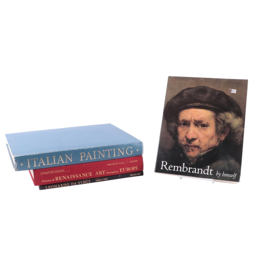 """""""Italian Painting,"""" """"Rembrandt by Himself,"""" and More Art Reference Books"""