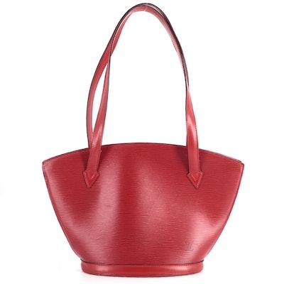 Louis Vuitton St. Jacques PM Shoulder Bag in Castilian Red Epi Leather