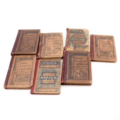 """""""McGuffey's Eclectic Reader"""" Collection, Late 19th/Early 20th Century"""