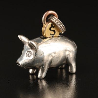 Brighton Piggy Bank Charm
