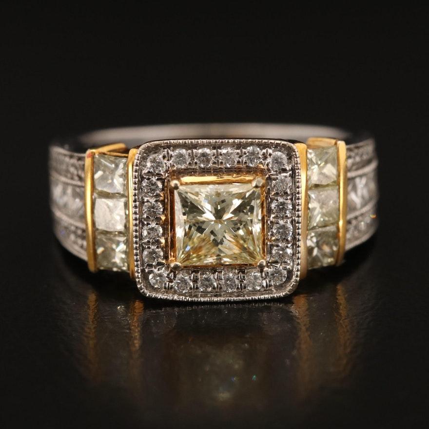 14K 2.51 CTW Diamond Ring