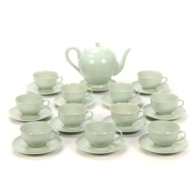 Celadon Porcelain Tea Set