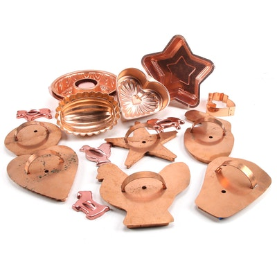 Martha Stewart Living Copper Cookie Cutters and Other Copper Bakeware