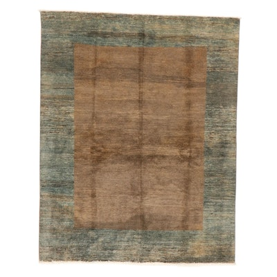 5' x 6'4 Hand-Knotted Pakistani Gabbeh Style Area Rug