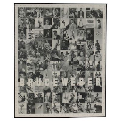 Exhibition Offset Lithograph Poster After Bruce Weber, Late 20th Century