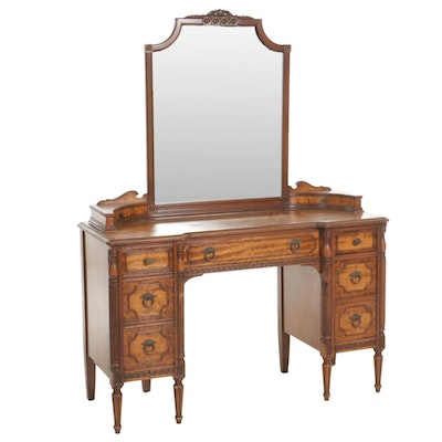 Neoclassical Style Vanity Table, Mid-20th Century