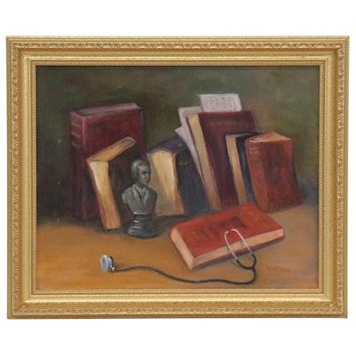 Huntington Still Life Oil Painting, 21st Century
