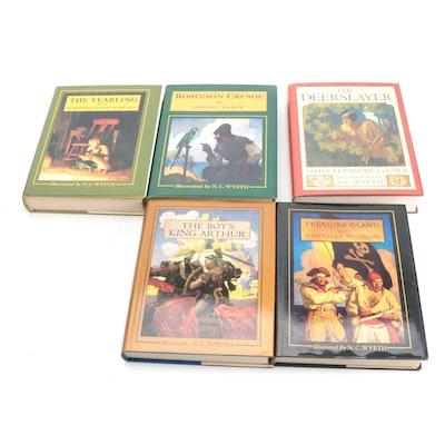 "N. C. Wyeth Illustrated ""Treasure Island"" and More Classics, Late 20th Century"