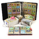 Pokémon Card Collection, Including 1990s Issues and Holo Cards
