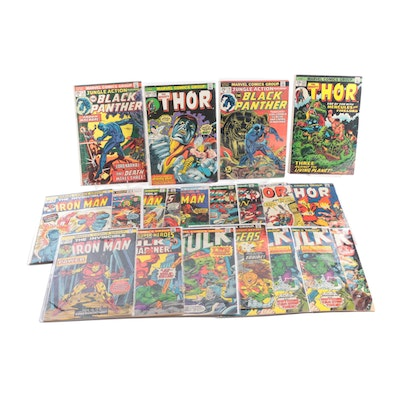 """Bronze Age Marvel Comics, Including """"Black Panther, """"Thor,"""" More"""