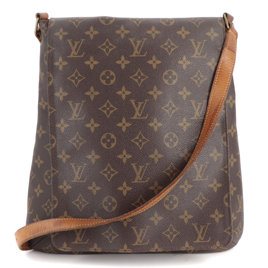 Louis Vuitton Musette Salsa GM in Monogram Canvas and Leather