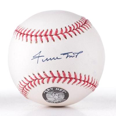 Willie Mays Signed Rawlings Major League Baseball, Say Hey COA