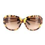 Versace VE4304 Medusa Sunglasses in Tortoise Acetate with Case